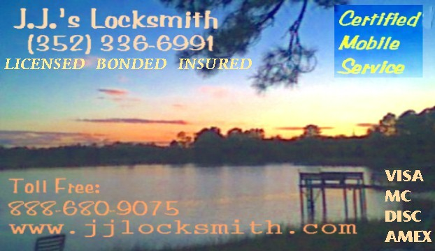 Sunset at Clearwater Lake in Putnam County, Florida