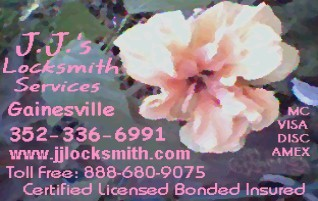 Our 'Hibiscus Blossom' card, photo by Elaine, artwork by JJ.